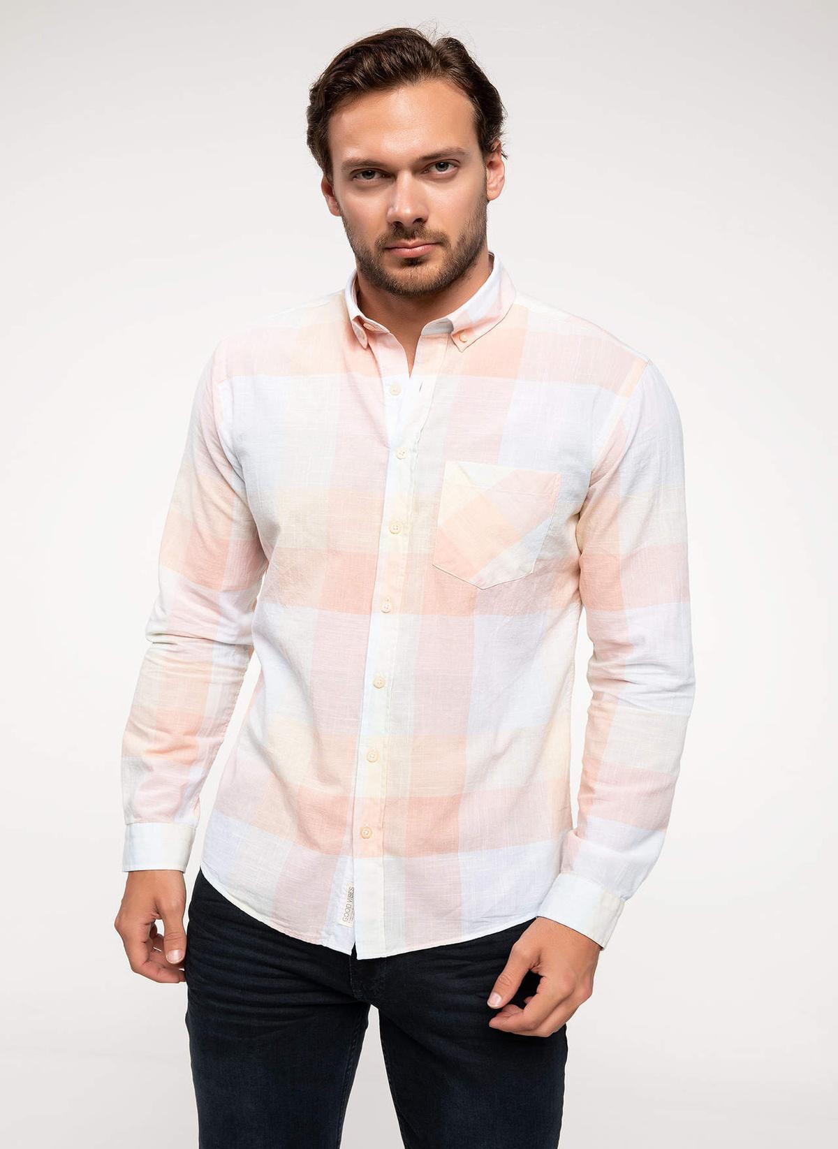 Defacto Ekoseli Modern Fit Gömlek I4652az18smpn232gömlek – 39.99 TL